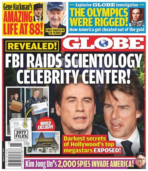 Globe Cover - 3/12/2018