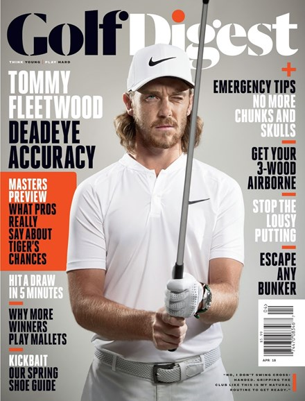 Golf Digest Cover - 4/1/2018