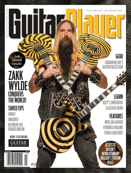 Guitar Player Cover - 3/1/2018