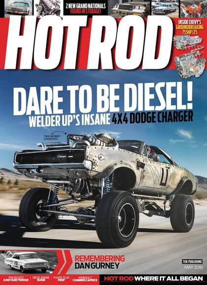 Hot Rod Cover - 5/1/2018