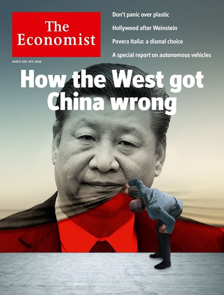 The Economist Cover - 3/3/2018