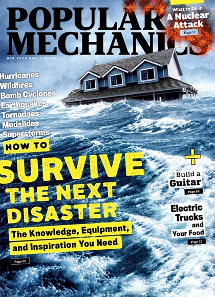 Popular Mechanics Cover - 3/1/2018