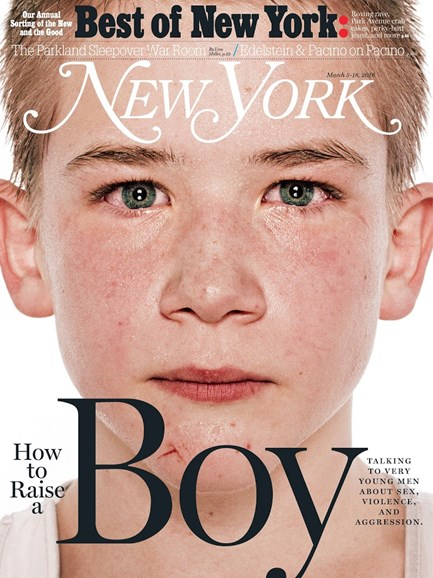 New York Magazine Cover - 3/5/2018