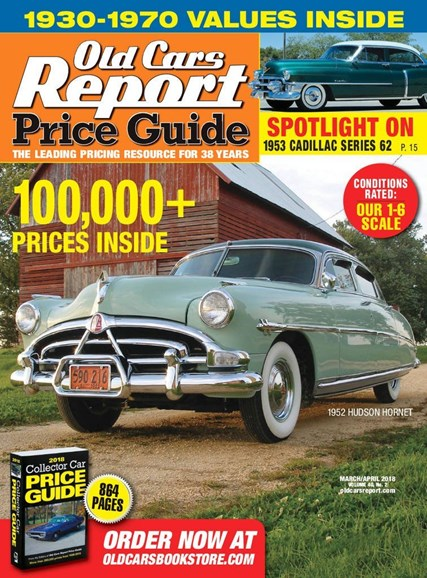 Old Cars Report Price Guide Cover - 3/1/2018