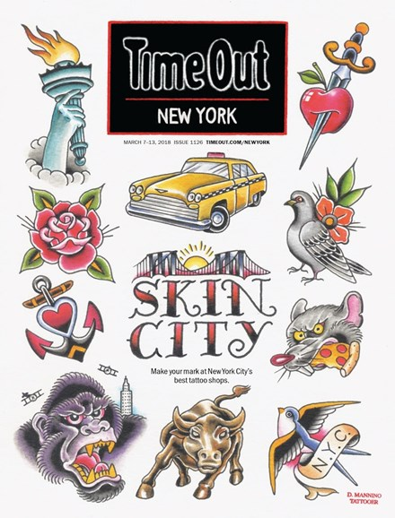 Time Out New York Cover - 3/7/2018
