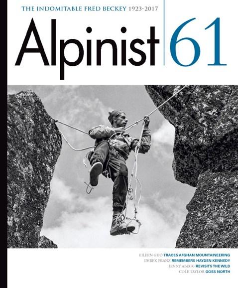 Alpinist Cover - 3/1/2018