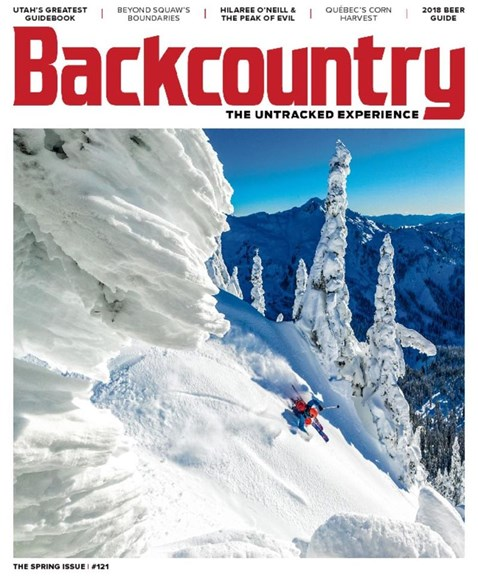 Backcountry Cover - 3/1/2018
