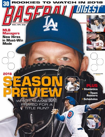 Baseball Digest Cover - 3/1/2018