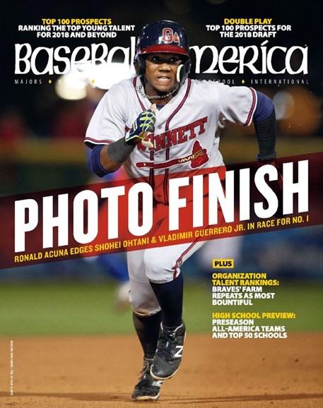 Baseball America Cover - 2/23/2018