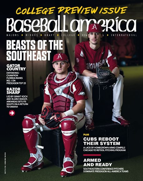 Baseball America Cover - 2/9/2018