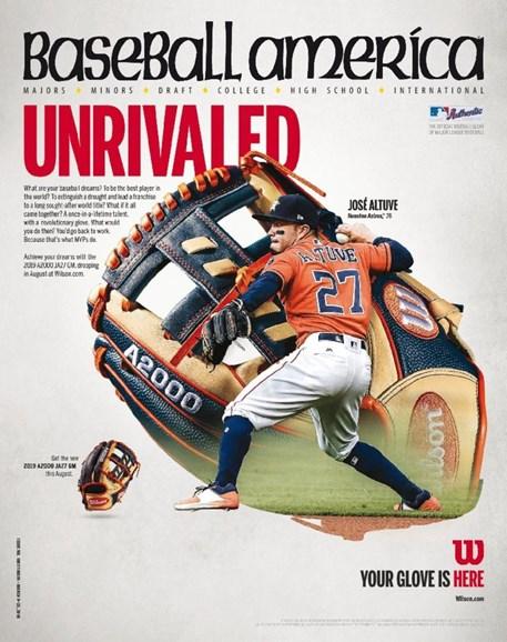 Baseball America Cover - 3/9/2018
