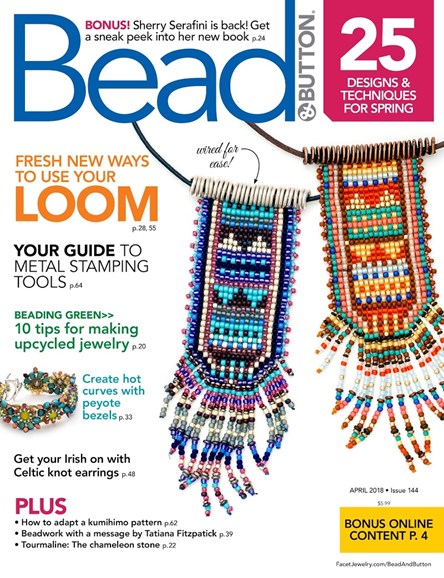 Bead & Button Cover - 4/1/2018