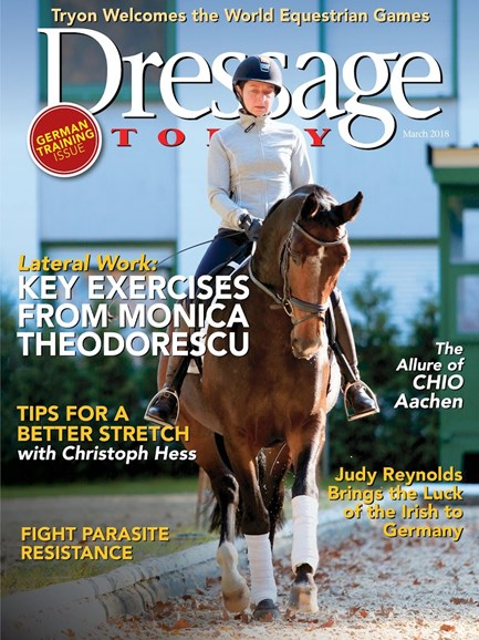 Dressage Today Cover - 3/1/2018