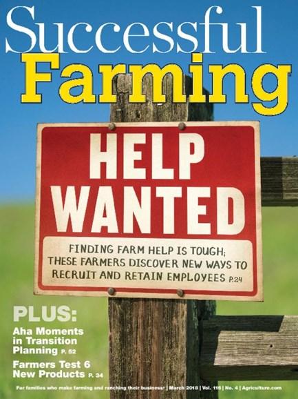 Successful Farming Cover - 3/1/2018