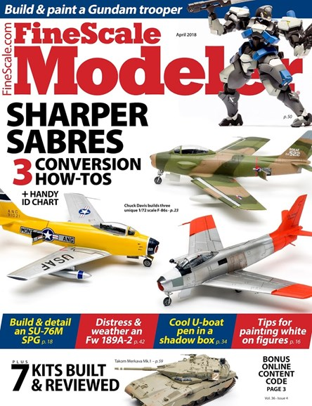 Finescale Modeler Cover - 4/1/2018