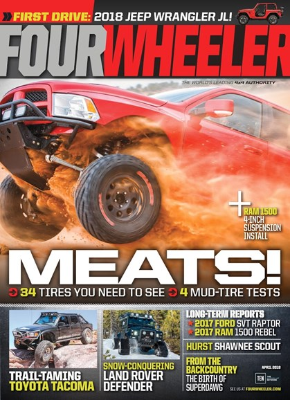 Four Wheeler Cover - 4/1/2018