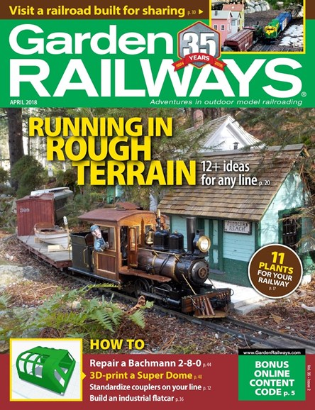 Garden Railways Cover - 4/1/2018