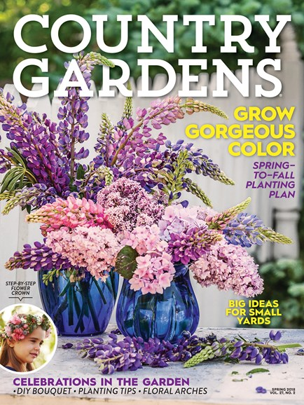 Country Gardens Cover - 4/1/2018