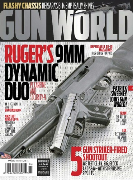 Gun World Cover - 4/1/2018