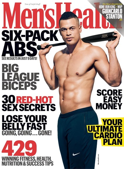 Men's Health Cover - 4/1/2018