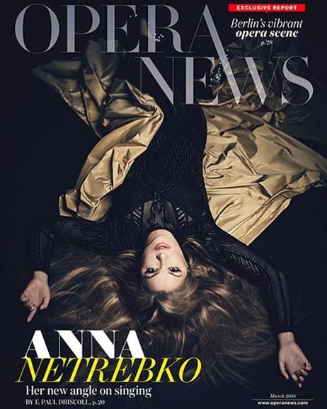 Opera News Cover - 3/1/2018