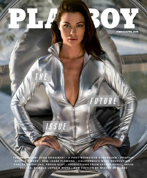 Playboy Cover - 3/1/2018