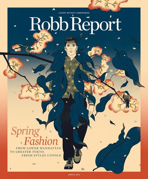 Robb Report Cover - 3/1/2018