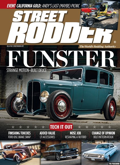 Street Rodder Cover - 5/1/2018