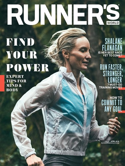 Runner's World Cover - 4/1/2018