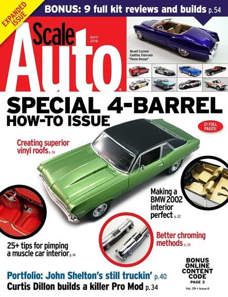Scale Auto Magazine Cover - 4/1/2018