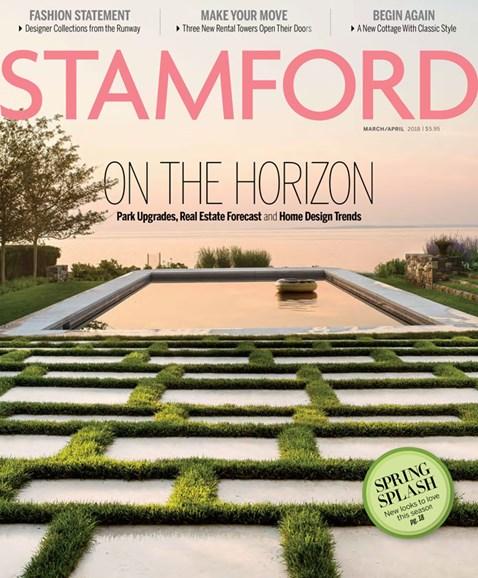 Stamford Magazine Cover - 3/1/2018