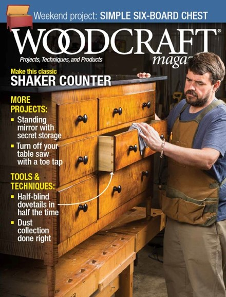 Woodcraft Cover - 2/1/2018