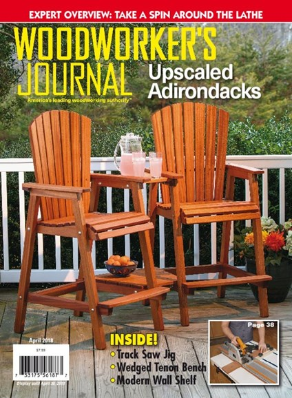 Woodworker's Journal Cover - 4/1/2018