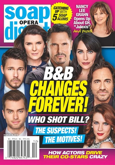 Soap Opera Digest Cover - 3/19/2018
