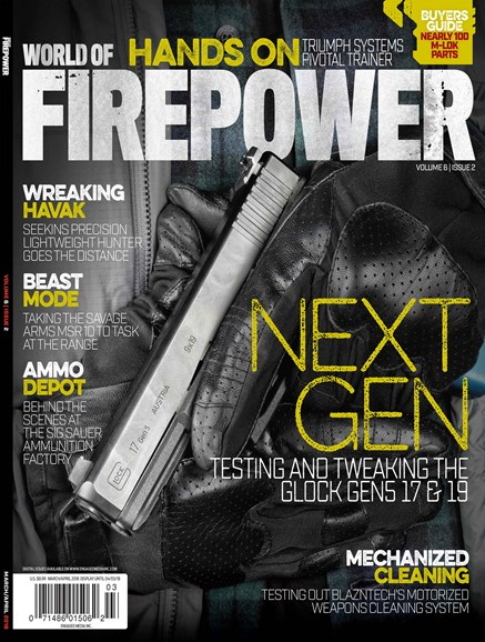 World of Firepower Cover - 3/1/2018