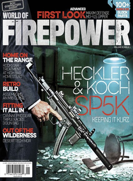 World of Firepower Cover - 1/1/2018