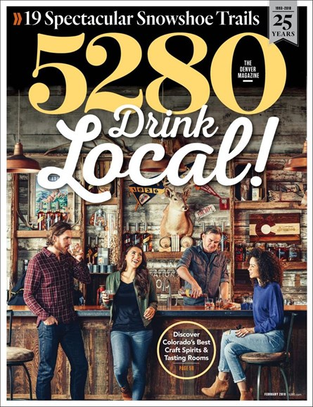 5280 Magazine Cover - 2/1/2018