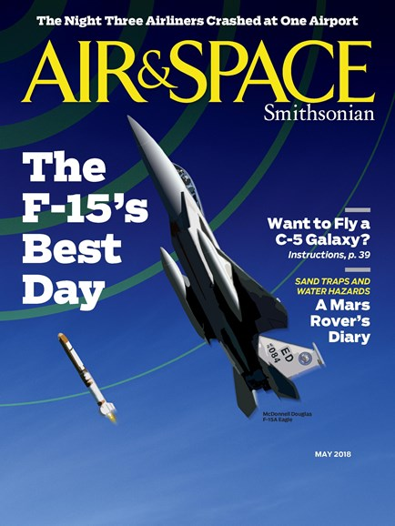 Air & Space Cover - 5/1/2018
