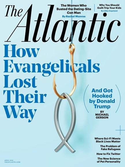 The Atlantic Cover - 4/1/2018