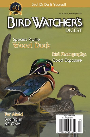 Bird Watcher's Digest Cover - 3/1/2018