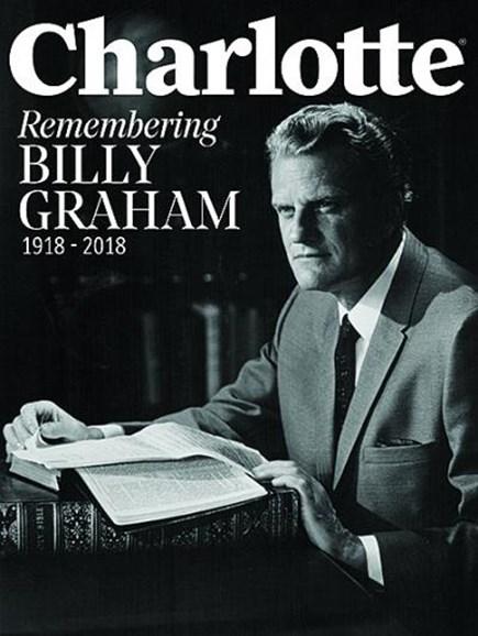 Charlotte Magazine Cover - 4/1/2018