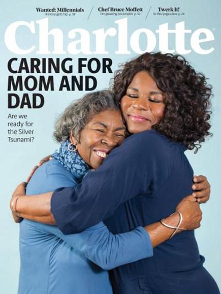 Charlotte Magazine Cover - 2/1/2018
