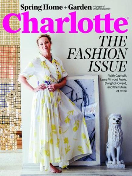 Charlotte Magazine Cover - 3/1/2018
