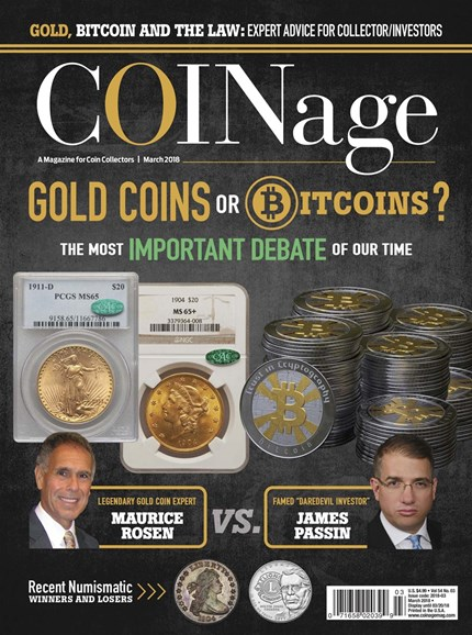Coinage Cover - 3/1/2018