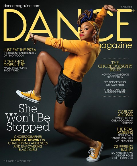 Dance Magazine Cover - 4/1/2018