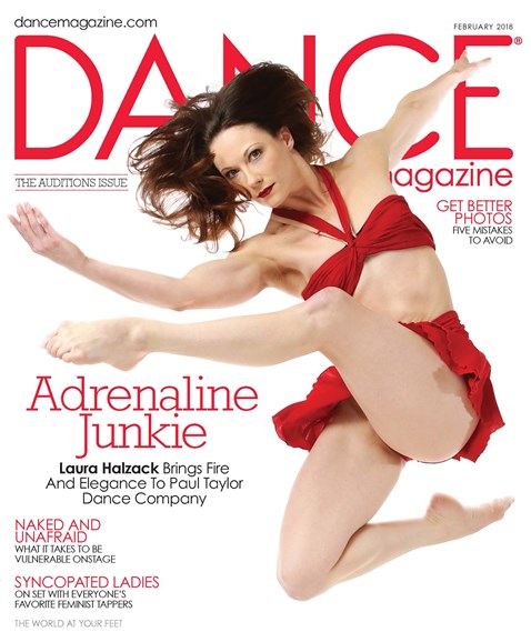 Dance Magazine Cover - 2/1/2018