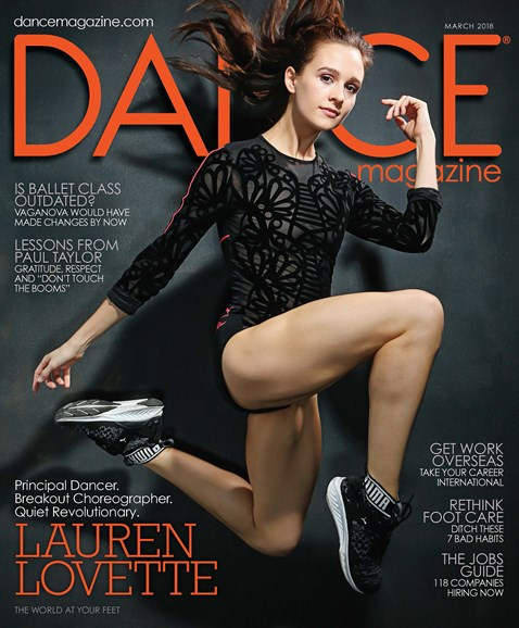 Dance Magazine Cover - 3/1/2018