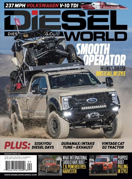 Diesel World Cover - 4/1/2018