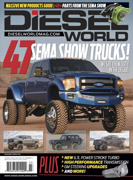 Diesel World Cover - 3/1/2018