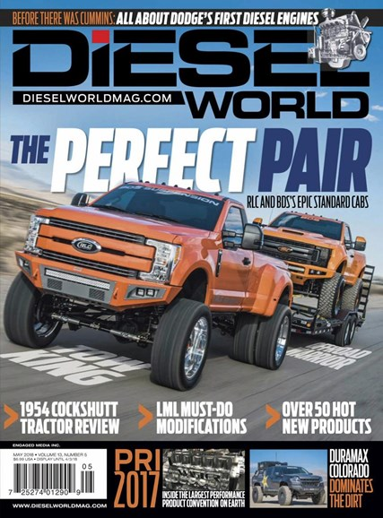 Diesel World Cover - 5/1/2018